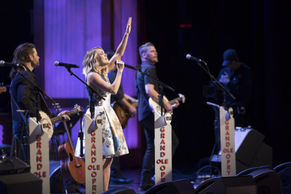 Carrie Underwood Performs 100th Opry Show